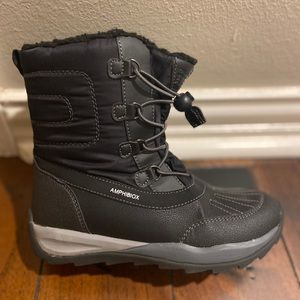 Geox Amphibiox Black Boots